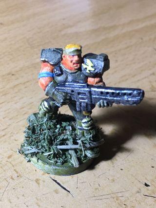 Warhammer soldado guardia imperial