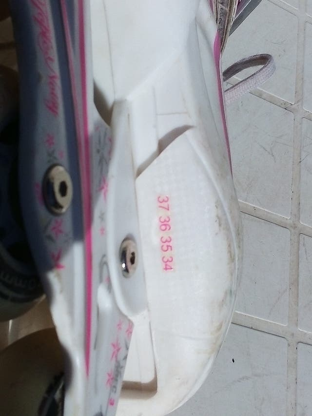 Vintage patines en línea para chica tipo Converse