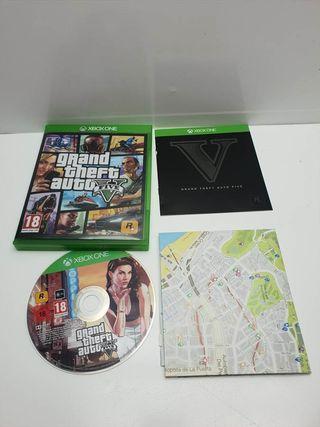 Juego Xbox One GTA V Completo