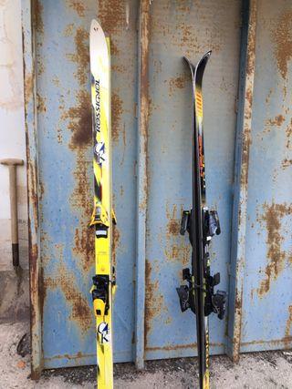 Esquís tradicionales