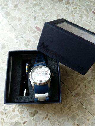 Reloj de hombre Neckmarine azul