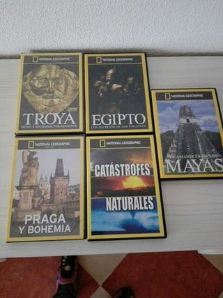 pack 5 Dvds national geographic