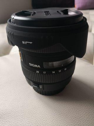 Sigma 10-20mm f/4-5.6 EX DC HSM para Canon