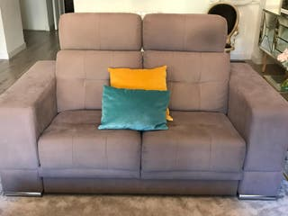 Juego de sofás. 2 + 3 plazas