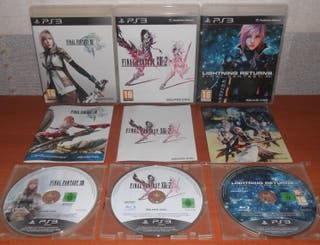 Final Fantasy (XIII,XIII-2,Lightning Returns) PS3