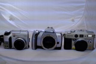 lote de cámaras.Canon... etc.