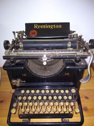 Remington antigua maquina de escribir