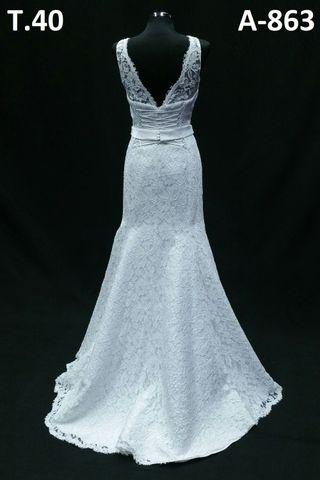 vestido de novia vintage de segunda mano en sant andreu de la barca