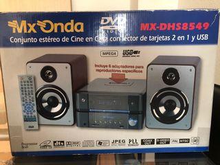 DVD - Cine en casa MX Onda