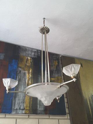 Lámpara francesa art nouveau