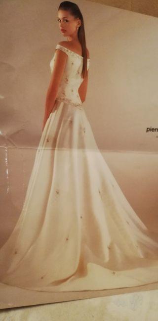vestido de novia talla 38 de segunda mano en cáceres en wallapop