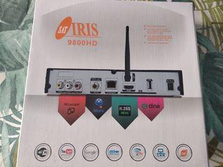 Receptor satelite Iris 9800HD