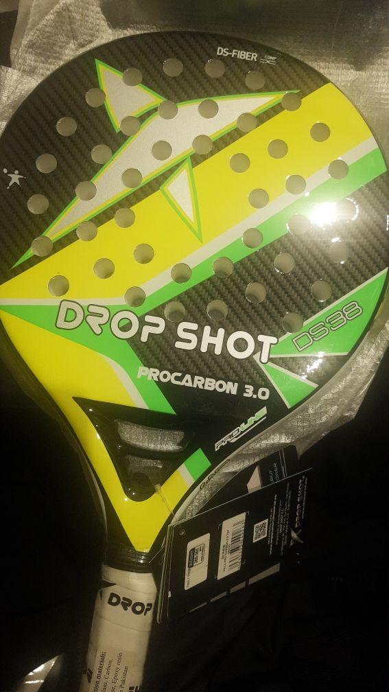 6e6a1892 Pala Drop Shot pro carbon 3 nueva de segunda mano por 70 € en ...