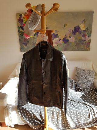 Chaqueta de piel + chaqueta