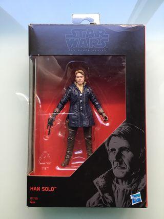 Star Wars Han Solo The black series