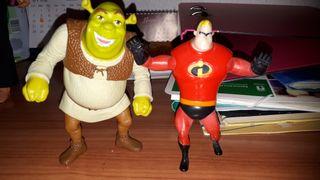 2 figuras Disney