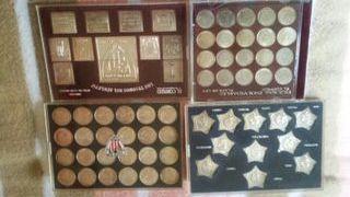 monedas...estrellas y sellos de plata del Athletic