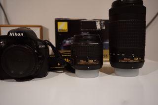 Nikon D5300 18-55 VR II + NIKKOR LENS AF-P 70-300