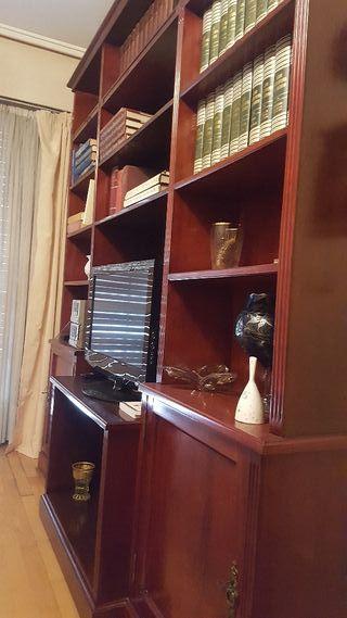 Para salon Biblioteca + mueble bar