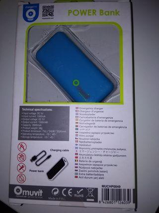 cargador de batería de emergencia
