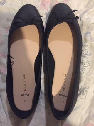 Black New Look size 6 ballet flats