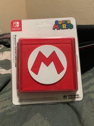 Tarjetero Nintendo Switch Mario
