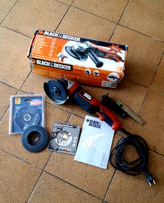 amoladora/radial Black&Decker