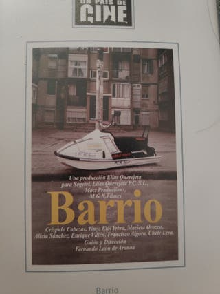 barrio Dvd