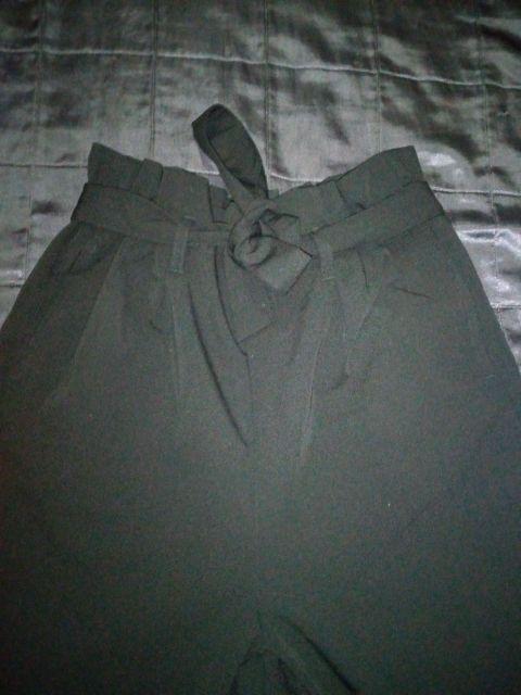 pantalon de tiro alto