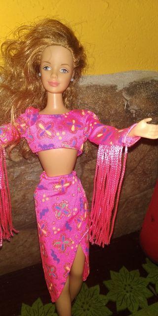 Muñeca Barbie de Mattel ,año 1991.