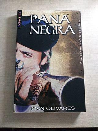 Libro Pana Negra. Joan Olivares.