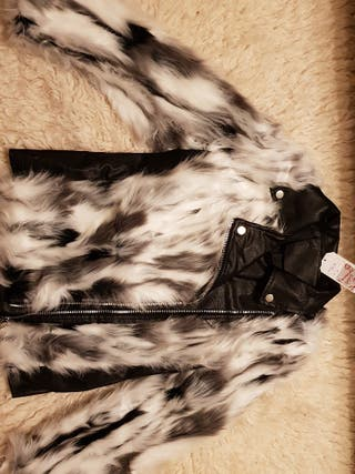abrigo /chaqueta pelo