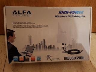Antena wifi Alfa (larga distancia)