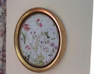 Espejos Marco De La Oval Resina Estilo Antiguo Revisada
