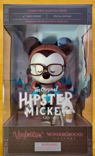 Mickey Mouse Disney figura hipster