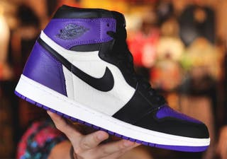 Jordan 1 Court Purple DS