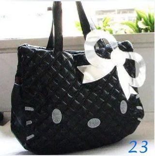 Cute Hello Kitty PU Women Leather Handbags Female