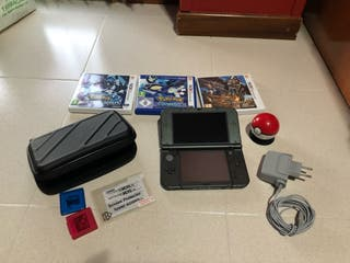 Nintendo new 3ds XL con complementos