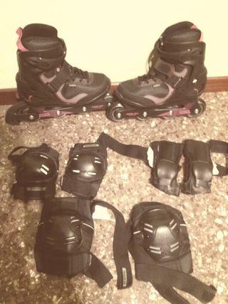 patines mujer numero 40 ( para quien calce un 39 )