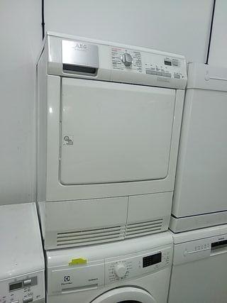 secadora aeg 8 kilos