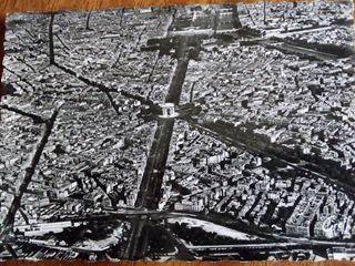 Postales antiguas París. Sin circular.