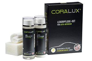 Coralux Cuidado De Piel Kit Limpiador Cuero + Crem