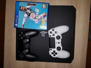 ps4 Pro+ juegos +psplus+2 mandos