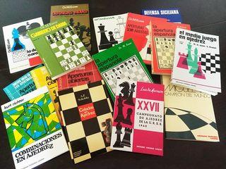 16 libros de ajedrez !y envio gratis! Lote oferta
