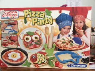 Cocina creativa. Pizza parte. De Clementoni.