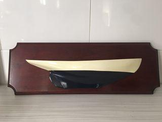 Cuadro Nautico Maqueta barca