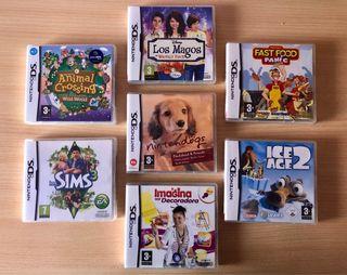 7 videojuegos para la Nintendo DS