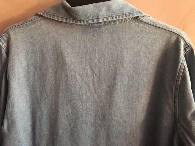 Camisa VAQUERA manga 3/4 de H&M - Talla 42