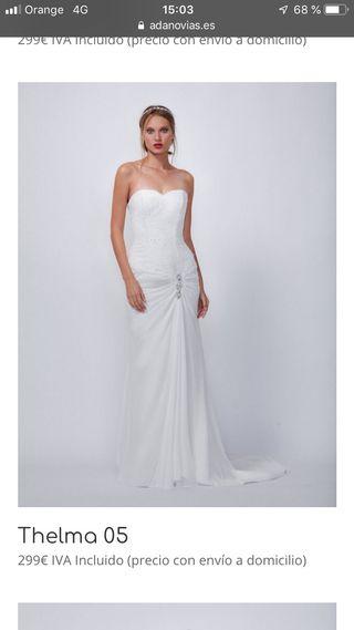 vestido de novia talla 42 de segunda mano en san sebastián de los