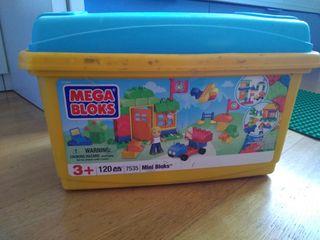 Conjunto piezas megablocks y lego